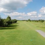 """16th Hole<br> Par 5: Index 18<br> Blue: 419m<br> Green: 415m<br> Red: Index 18 – 370m<br> Tip: Reachable par 5, a birdie should be """"on the cards"""" here."""
