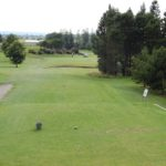 17th Hole<br> Par 3: Index 16<br> Blue: 158m<br> Green: 135m<br> Red: Index 16 – 125m<br> Tip: Mid iron par 3, check the wind as the tee box is sheltered.